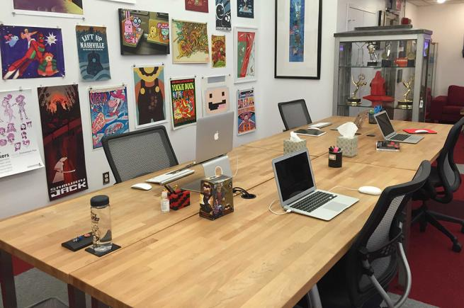 Office Desk Space Intended Creative Office Space For Lease Nyc Open Desk Space Sublease In Heart Of Flatiron District 10010