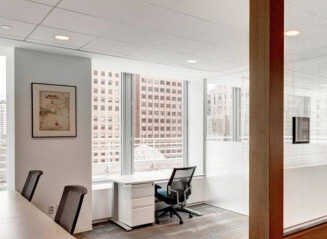 hedge fund trading installation office lease