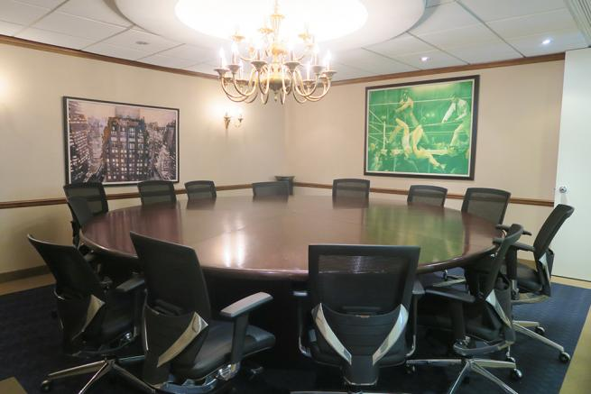 large board room for sublease