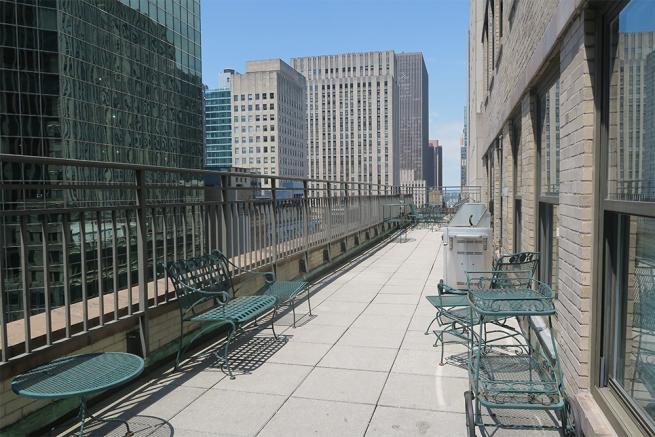 office sublease with outdoor space