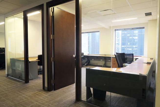 trading room for sublease midtown east