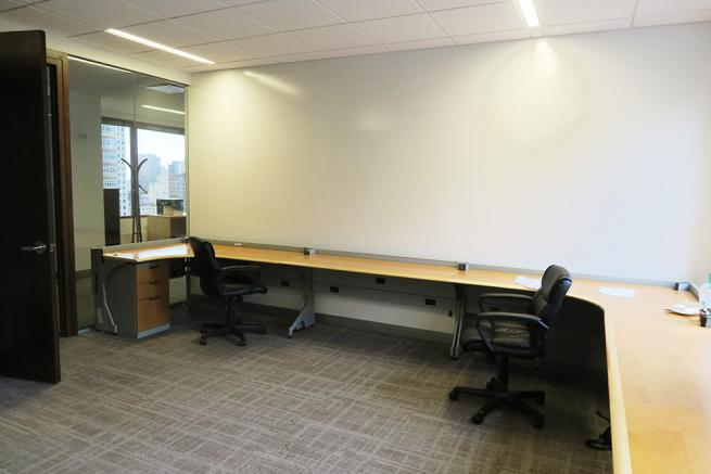 shared office space for sublease