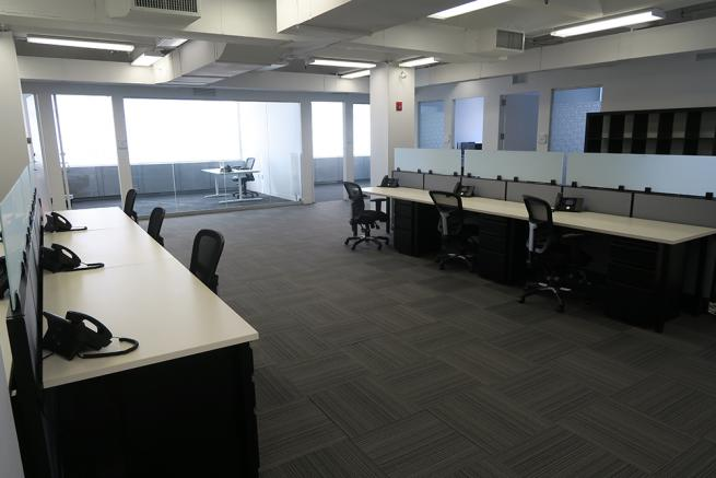 open desk space for sublease