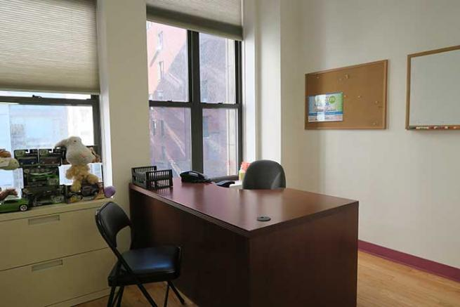 Private Windowed Office for Lease