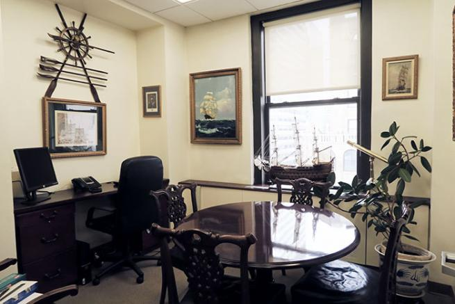 Corner Office For Sublease On Madison Ave With Great Light