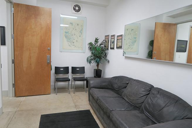 Private windowed office for sublease in Soho
