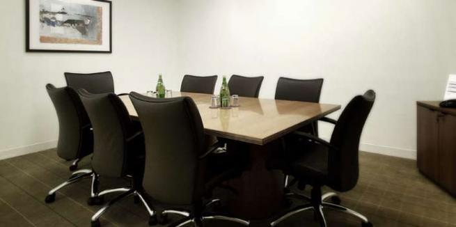 Office suite with shared conference room
