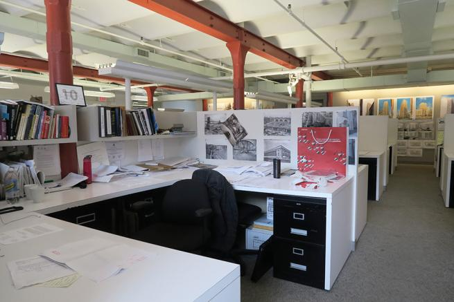 shared office space in noho