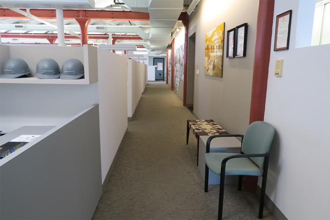 shared space with architecture firm