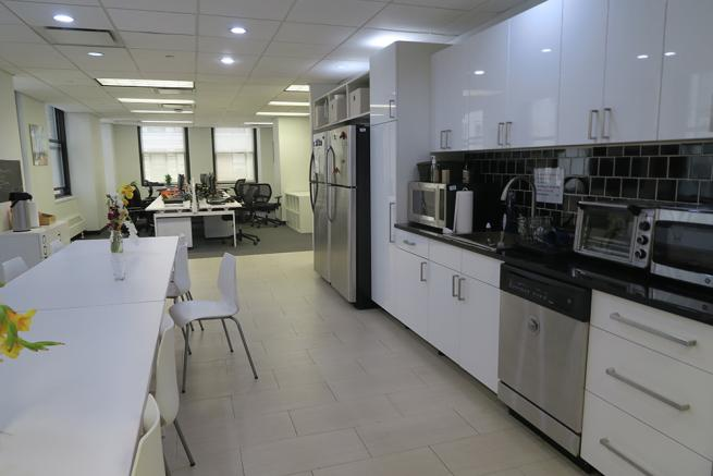 Creative Open Office Space For Sublease On Broad Street