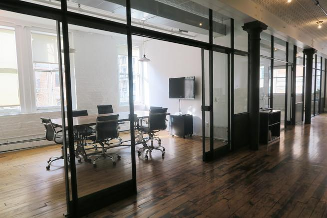 full floor office space for sublease